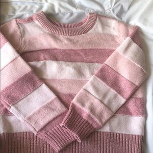 Pink Gap Sweater and Scarf Set!